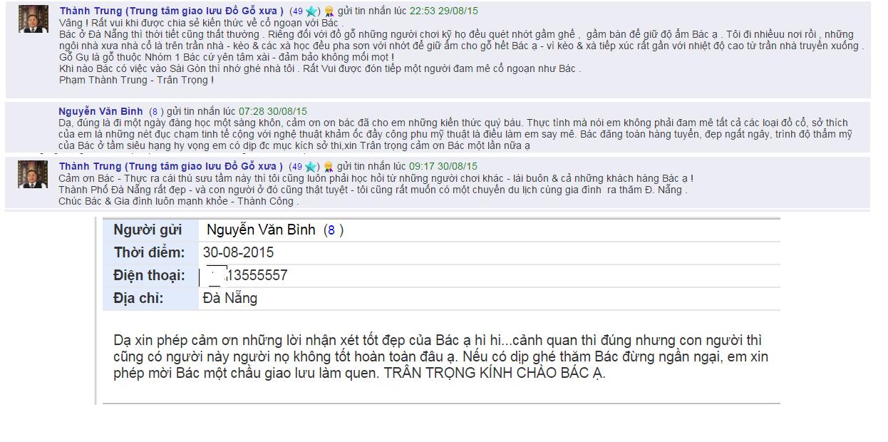 Chia sẻ cùng Bác Nguyễn Văn Bình