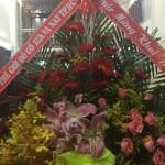 Hoa Mừng Khai Trương Mình tặng ShowRoom Của Thành Trung Phát .