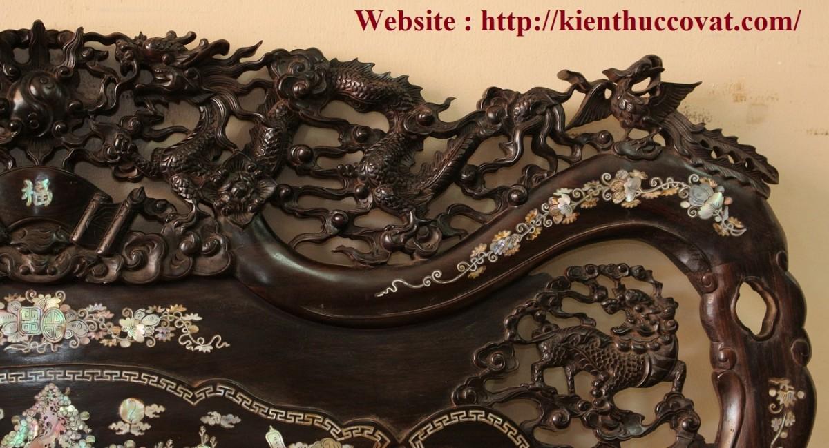 Từng chiếc vảy rồng được các nghệ nhân Huế tỉa tót tỉ mỉ , đã tạo ra những sản phẩm chất lượng , 1 thương hiệu Hàng Huế nổi tiếng .